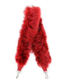Strap You Large Fur Shoulder Strap by Fendi at Neiman Marcus.