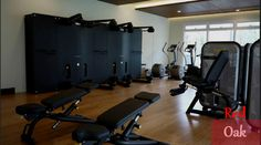 #Esportsgyms: Red Oak's gym facility has been geared with Technogym Excite+ cardio line with Visioweb and Element+ line. Visioweb is an interactive display feature that lets one access the web, play games and watch TV while training. #TechnogymTakeover #TechnogymPH #ESports