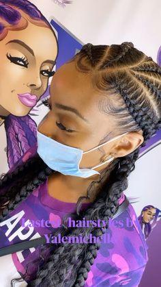 Twist Braid Hairstyles, Braided Hairstyles For Black Women, African Braids Hairstyles, Baddie Hairstyles, Prom Hairstyles For Short Hair, Hairstyles With Braiding Hair, Weave Hairstyles, Girl Hairstyles, Wedding Hairstyles