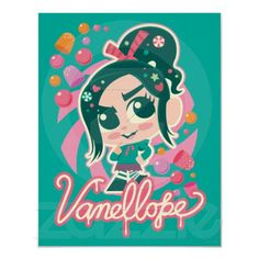 Disney Wreck-It Ralph Vanellope Poster
