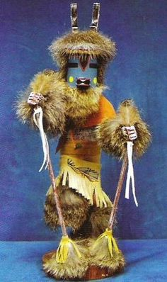 The #Deer #Kachina #Doll dances to increase his kind for plenty to eat for the future.