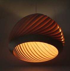 Hand made lampshades by Tzuri and Katharina