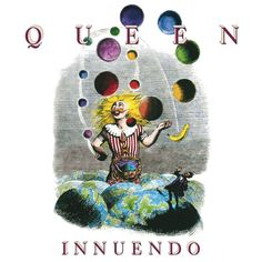 """""""The Juggler of Universes"""", By French artist, J. Grandville A colored version by Richard Gray was used as cover art for Queen's final album (with Freddie Mercury), INNUENDO Bruce Springsteen, Pink Floyd, Lps, Albums Queen, Lp Vinyl, Vinyl Records, Vinyl Art, Queen Songs, Queen Lyrics"""