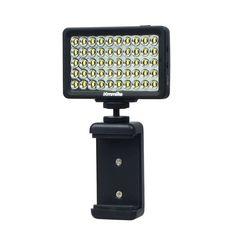 Discount! US $39.23  Photographic Lighting CoMiray 50 Bulbs LED Video Light for Cellphone DSLR MONOPOD Gopro Cameras  #Photographic #Lighting #CoMiray #Bulbs #Video #Light #Cellphone #DSLR #MONOPOD #Gopro #Cameras  #BlackFriday