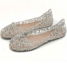 3045533a29a1 best for breathable summer escapade crystal bling jelly shoes Glitter Jelly