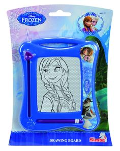 <b>Disney Frozen Tegnetavle</b> - en smart tavle, som man kan tage med sig over alt. Tegnetavlens kompakte format gør den nem at have med i tasken, eller at sidde med på bagsædet, når man behøver en smule underholdning på køreturen.<br><br>Mål: 16 x 13 cm.<br><br>Anbefalet alder: Fra 3 år.<br><br><b>Obs:</b> <br><br>•Uegnet for børn under 3 år.