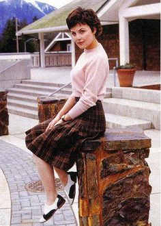 Sherilyn Fenn as Audrey Horne, Twin Peaks, via Flickr.