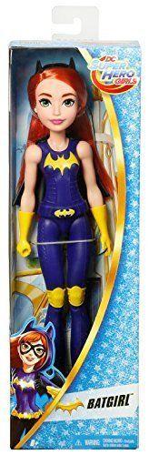 DC-Super-Hero-Girls-12-034-Training-Action-Bat-Girl-Doll-Inspires-Imaginative-Play