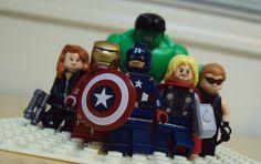 GEEK ART /  lego / AVANGERS / Assemble... (Lego Marvel vignette) by *HaroldPotter on deviantART