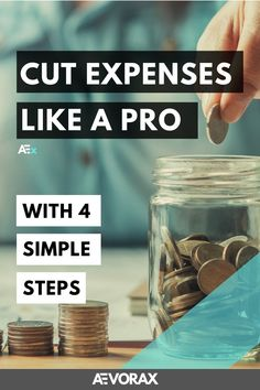 Cutting your monthly expenses is easier than you think! I'll show you how to cut your expenses in just a few minutes! You can start achieving your monthly saving goals from today! | #personalfinancetips #savingmoneytips #cutexpensestips