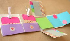 "Craftingeek*: DIY: Album Scrapbook mini-pocket ""Fold"""