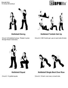 Kettlebell Turkish Getup is THE BEST way to tone - seriously! Keep Fit, Stay Fit, Kettlebell Swings, Kettlebell Training, Turkish Get Ups, 15 Minute Workout, Medicine Ball, Muscle Groups, Health Quotes