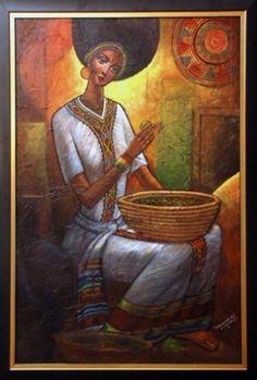 Hanatzeb Gallery: Fine Ethiopian Art