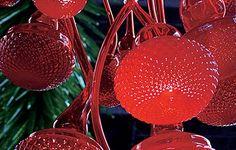 Dale ChihulyLustre rouge rubis (détail)19971,8 x 1,2 x 1,2 mVianne, FrancePhoto Ansgard Kaliss