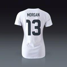 Nike US Women's National Team Alex Morgan T-Shirt    SOCCER.COM