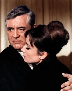 Cary Grant + Audrey; wish these two had made more movies together... My two all time favorite actors