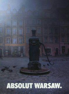 Absolut Vodka Ad - Absolut Warsaw