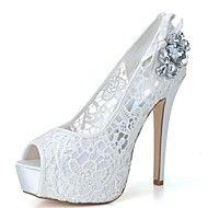 Women's Shoes Platform Peep Toe Stiletto Heel Lac... – AUD $ 54.79
