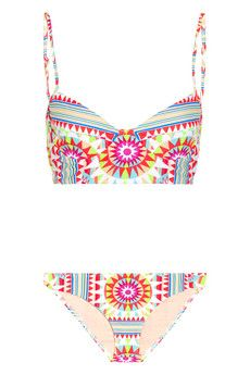 Mara Hoffman Shakti printed underwired bikini | THE OUTNET