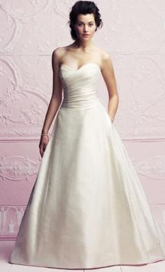 Paloma Blanca 4262 18: buy this dress for a fraction of the salon price on PreOwnedWeddingDresses.com