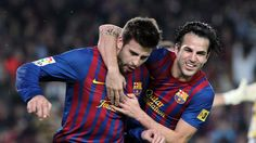 Cesc needs to deal with that hair...