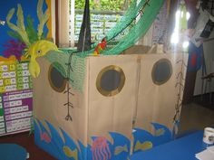 Boat Role-Play Area classroom display photo - Photo gallery - SparkleBox