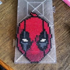 Deadpool perler beads by klep2024
