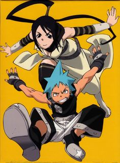 Tsubaki and Black Star