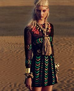 Codie Young by Philip Riches for W Magazine Korea