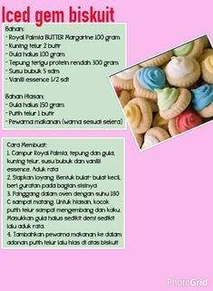 Indonesian Recipes, Indonesian Food, Cookie Recipes, Snack Recipes, Snacks, Donuts, Protein, Bakery, Pizza