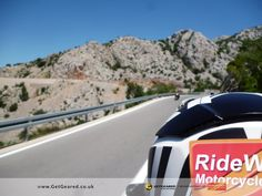 Motorcycle touring accessories for RideWithUsTours supplied by GetGeared - Eastern Europe 182 http://www.getgeared.co.uk/?leadsource=ggs1410utm_campaign=ggs1410utm_topic=rwut