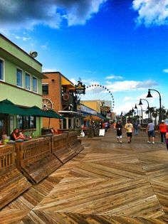 Myrtle beach sc a typical day walking the pier while working senior