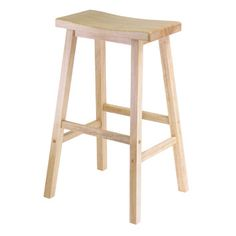 """Winsome 29"""" Single Natural Seat Stool $37.00 Free Shipping on orders over $49.00 Ships in 24 Hours List Price: $64.99 You Save: $27.99 (43%) Rewards:  $1.11 ? 30+ in Stock"""