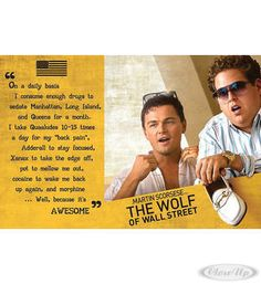 The Wolf of Wallstreet Poster Hier bei www.closeup.de
