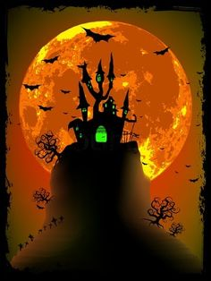 Haunted House / Halloween Décor / Halloween / Cheddar Moon and Haunted House on Hill