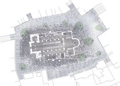 Ribe Cathedral Square by Schonherr via Landezine Landscape Architecture Works