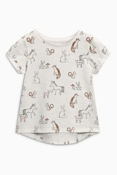 Buy Pink/Grey Bunny T-Shirts Three Pack (3mths-6yrs) from the Next UK online shop