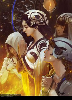 ArtStation - Prayer, Bayard Wu