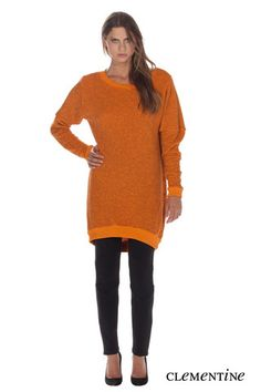 We love this great new sweater tunic from Fluxus, we are carry this item in a peacock blue.