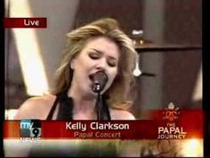 kelly clarkson up to the mountain - YouTube