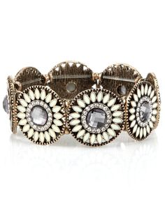 Eden Shield Stretch Bracelet