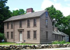 Hancock-Clarke House, a historical house & museum in Lexington, Massachusetts