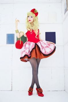 Ever After High: Cosplay Apple White