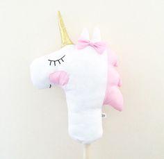 Unicorn Hobby Horse at handmadeheartshop.bigcartel.com