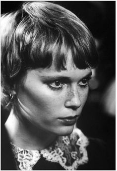 One of Sassoon's star clients was Mia Farrow. Her short style in Rosemary's Baby brought gamine hair to the average woman —while propelling the plot forward too.