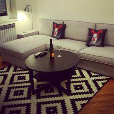 """#almostdone #livingroom #ikea #kivik #lappljungruta #vejmon"""