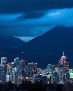 Mountain Majesty in Vancouver