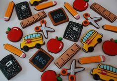 gallery of school bus cookies | Back to School Cookies — Cookies!