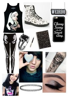 """""""Untitled #103"""" by davinaespinosa ❤ liked on Polyvore featuring Disney, Volcom, West Coast Jewelry and Casetify"""
