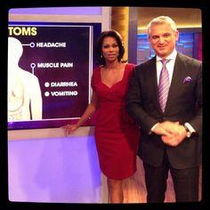 Fox News  #cdc #factsnotfear #healthcare #EbolaOutbreak — with Harris Faulkner.